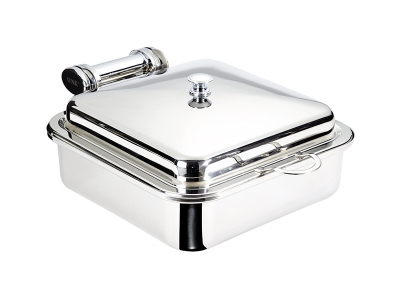 Square Induction Chafer - stainless steel insert