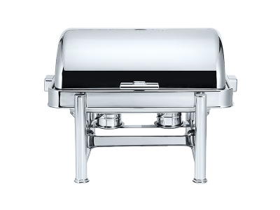 Stackable Oblong Roll Top Chafing Dish