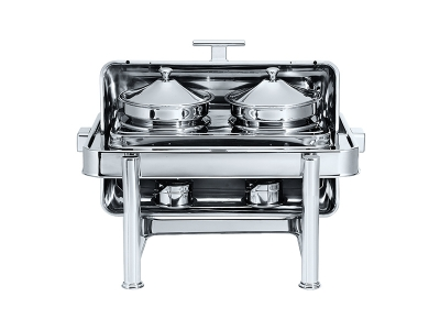 Stackable Oblong Roll Top Soup Station