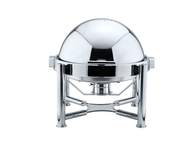Stackable Round Roll Top Chafing Dish
