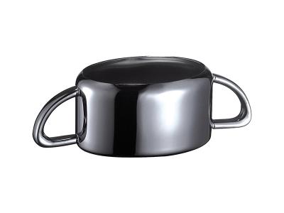Sugar Bowl - 25cl - black titanium finish