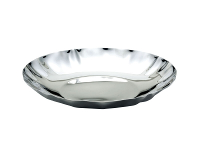 Wave Shaped Round Plate