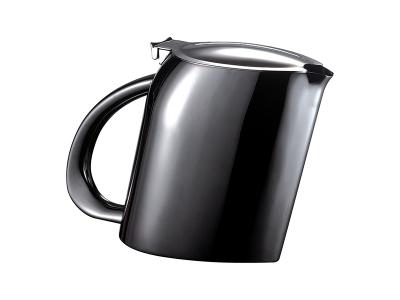 Tea / Coffee Pot - 200cl - black titanium finish