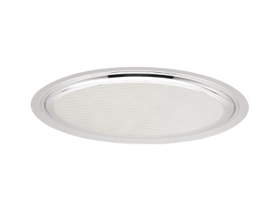 Oval Service Tray - 56.7cm - surface with pattern