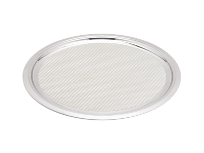 Round Service Tray - 39cm - surface with pattern