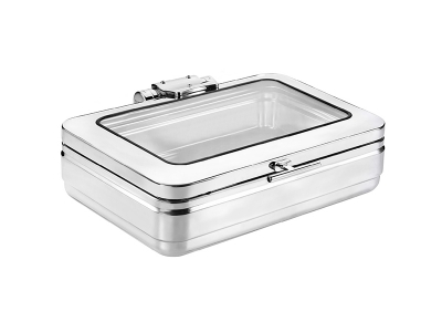 GN1/1 Induction Chafing Dish (glass lid)