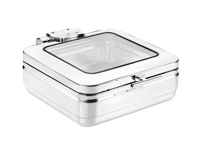 GN2/3 Induction Chafing Dish (glass lid)